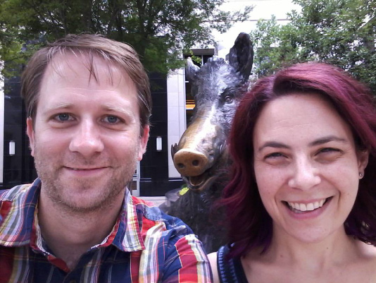 Matthew Cordell and Julie Halpern