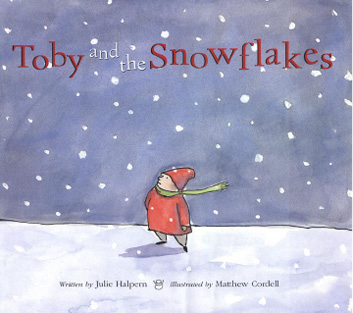 Book Cover: Toby and the Snowflakes
