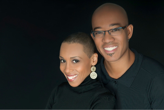 Andrea Davis Pinkney and Brian Pinkney
