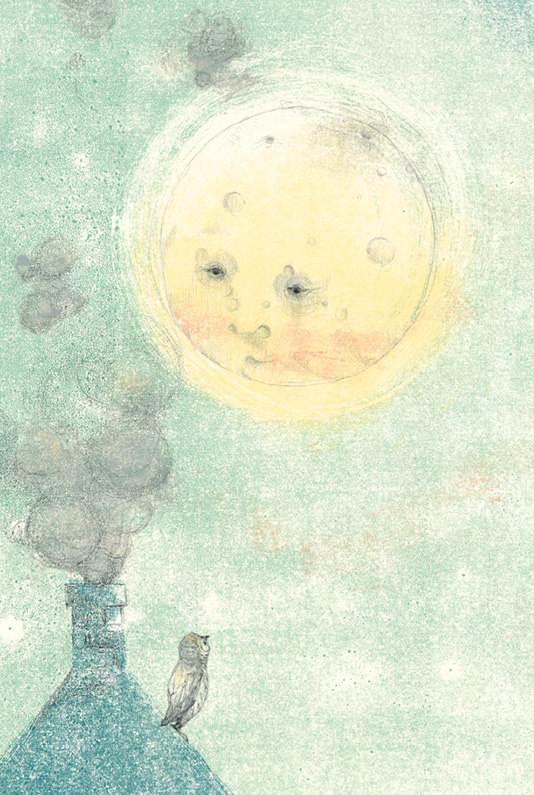 Artwork from Music for Mister Moon (2019)
