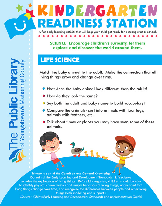 Figure 3. Kindergarten Readiness Station Sign