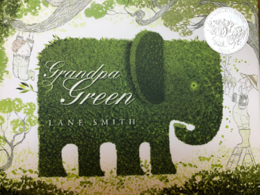 Book cover: Grandpa Green